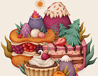 Food Illustration - Winter 2019