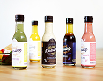 Fontana Salad Dressing Redesign - Package design