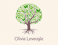 Olivia Leveugle Constellations : logo and website