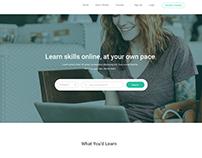 E-University Homepage
