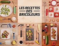 Les recettes des Bricoleurs by Leroy Merlin