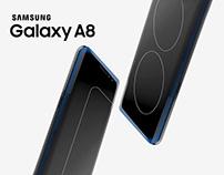 Galaxy A8 Key Visual Proposal