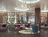 Park Regis Hotel - Interior 3D Visualization