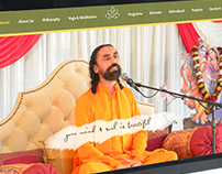 Global Spiritual Website Design