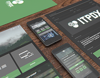 ITPDX - Branding + Desktop & Mobile Ui Redesign