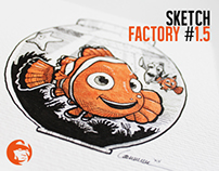 SKETCH FACTORY #1.5 - Commissioned OGs