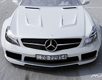 My 3D Work - Mercedes SL65 AMG Black Series ...