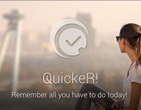 QuickeR! Reminder v1.0.2 iOS app