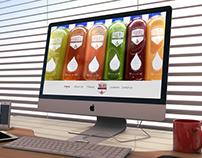 Prairie Cold Press Web Design