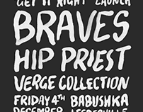 Braves Single Launch Poster