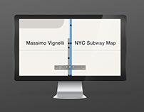 NY Subway Map Animation
