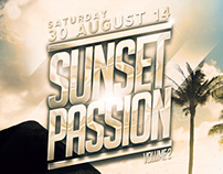 Sunset Passion Vol. 2 Flyer/Poster