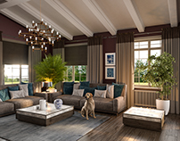 Livingroom in a country house