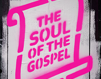 Soul of the Gospel Stencil & Poster