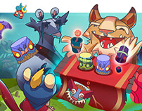 Jungleverse | Tiki Cups Shuffle