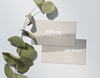 Business Card Mockup Scene