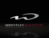 Whistler Blackcomb logo animation