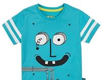 ROBOTS - nadruki na dziecięce koszulki