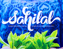 Sahilal Lettering Logo