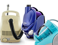 VACUUM CLEANER | PRODUCT PHOTOGRAHY