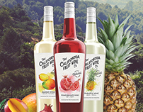 The California Fruit Wine Co. // Packaging Illustration