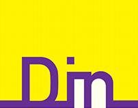 DIN Typeface Study