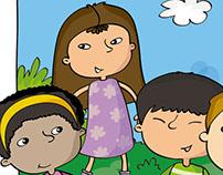 Ilustración para Santillana Ecuador