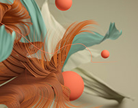 Hair and displacement exploration