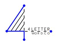 4 Letter Word.Co Branding