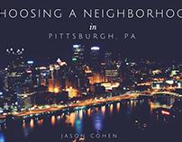 Choosing a Neighborhood in Pittsburgh, PA