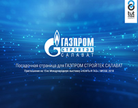 Presentation - Gazprom Strojtek Salavat /website design