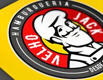Velho Jack - Hamburgueria // Bravo Design