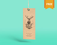 Versatile Free Apparel Label Mockup