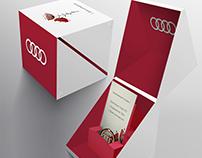 Concept Audi Postcard