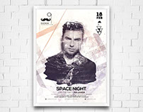Poster de Discoteca Space Night