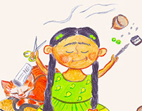 Ameena-Character-design