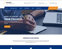 Banking WordPress theme