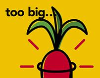 GMO FREE – Poster design, 2018.