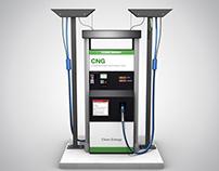 CNG Filling Machine 3d Model Free .obj