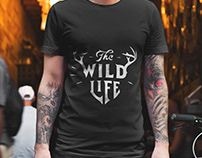 The Wild Life T-Shirt Design