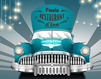 Fwala street food truck design and structure