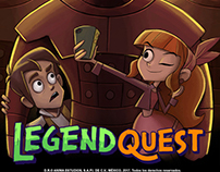 Legend Quest official episode poster art.