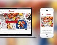 Restaurant / Seafood Web Design + Development