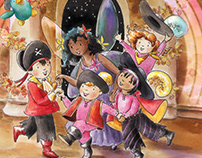 The Rainbow Pals Love Halloween. Book cover