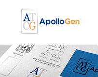 ApolloGen - A Genetic Testing Lab - Brand Identity