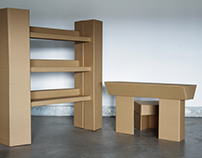 COSMOS Cardboard Furniture