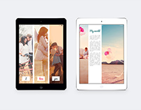 Ipad&Tablet Valentines Photo Album