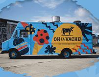 Oh La Vache! Food Truck Identity