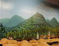 Appalachian Mountain Train Room Mural