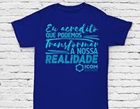 Camiseta para o ICOM